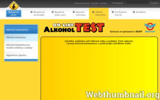 Alkoholtest online